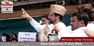 New Industrial Policy a ploy to settle non-state subjects in Kashmir: Mirwaiz