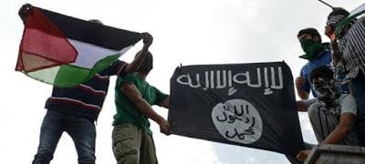 Youth wave ISIS flags in Kahmir's Srinagar