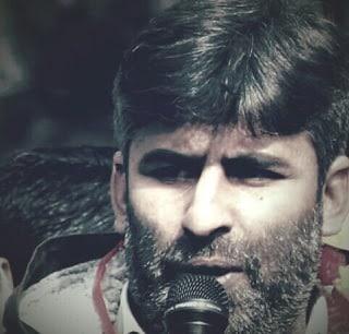 Slain Sarpanch Sajad Ahmad Malik