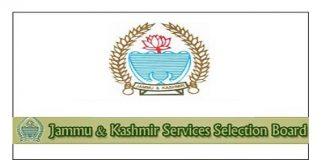 J&K Services Selection Board (JKSSB)