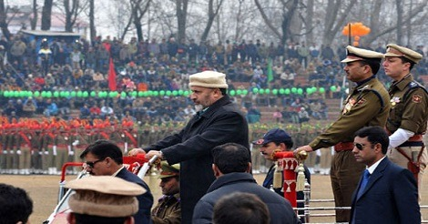 Republic Day function held amid tight security in Srinagar