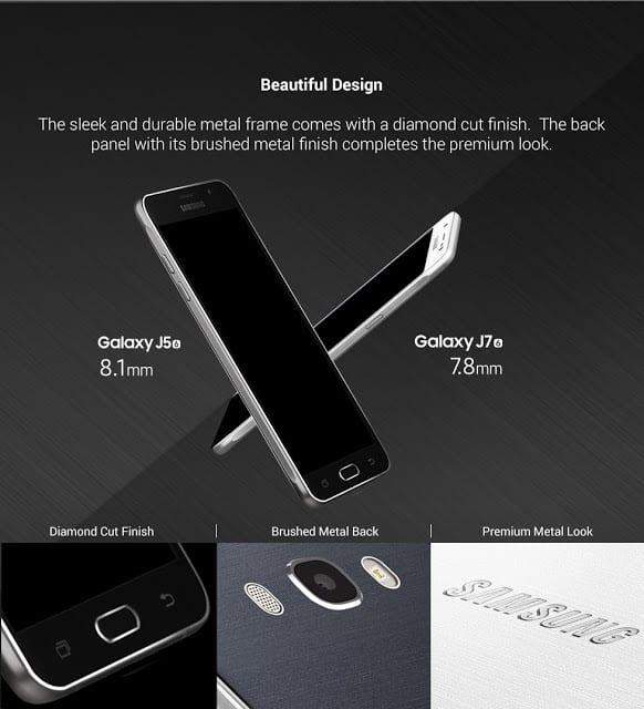 Samsung J5 (2016), Samsung J7 (2016)