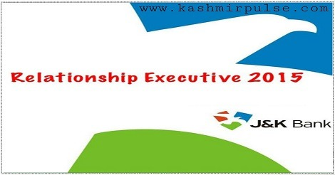 J&K Bank Relationship Executive (RE) Recruitment