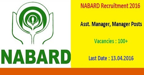 NABARD Recruitment 2016 for 115 Manager Posts