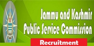 Jammu & Kashmir Public Service Commission (JKPSC) Recruitment