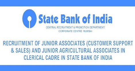 SBI Junior Associates Recruitment 2016 - 17000 Vacancies