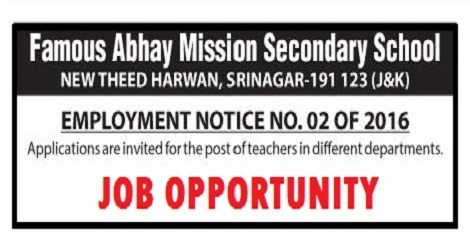 Famous Abhay Mission School