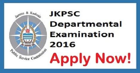 JKPSC Departmental Examination