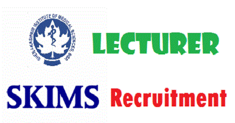 SKIMS Soura requires Lecturers