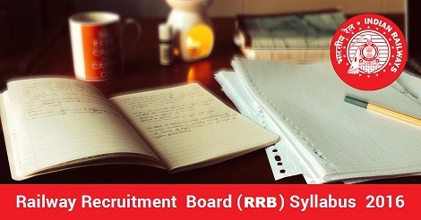RRB Examination - Syllabus 2016