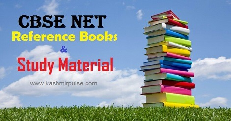 CBSE NET Reference Books & Study Material
