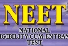 National Eligibility Entrance Test (NEET)