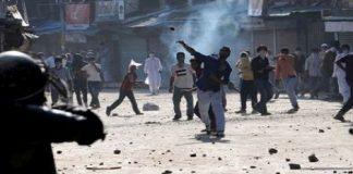 Stone Pelting Clashes