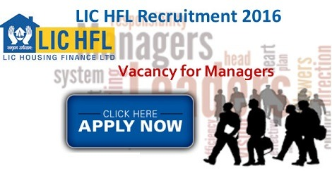 LIC HFL Recruitment 2016