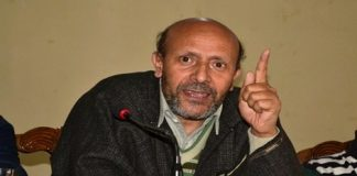 Independent lawmaker representing Langate constituency, Er Rasheed