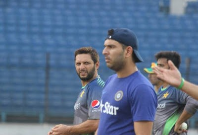 India vs Pakistan: ASIA CUP 2016 - TRAINING SESSION