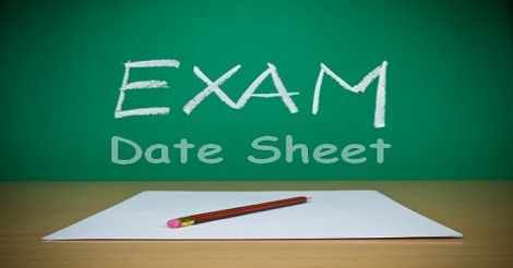 Date Sheet for Examination of BG 1st Semester & 2nd Year