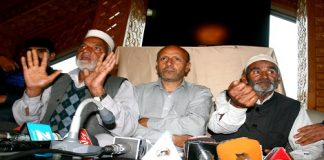 Awami Ittihad Party (AIP) Chairman, Er Rasheed