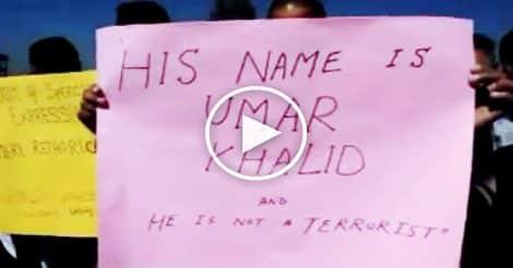 Kashmir University students express 'Solidarity With JNU'