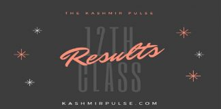 12th Class (Winter Zone) results this evening JKBOSE