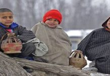 Cold Wave In Kashmir
