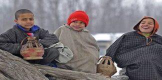 Cold Wave In Kashmir