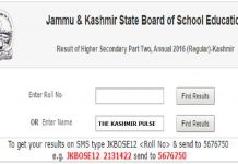 JKBOSE declares 12th Class results