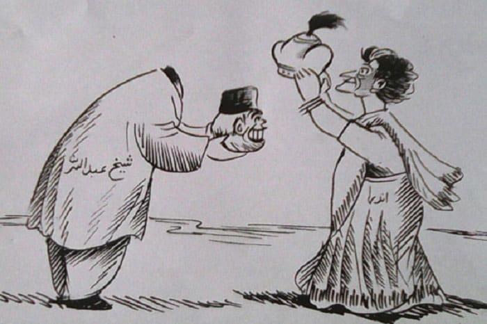 Indira-Abdullah accord - Cartoon by BAB