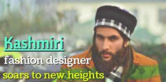 Kashmiri fashion designer soars to new heights - Shahid Rashid Bhat