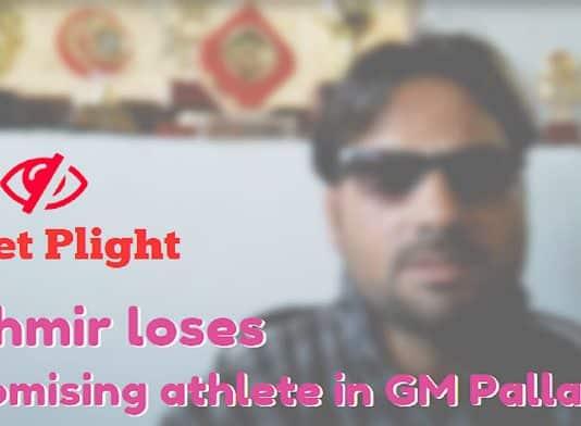 Pellet Plight Kashmir loses a promising athlete in GM Palla