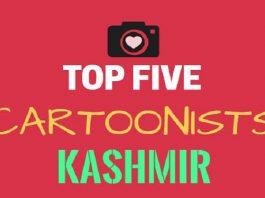 Top Five Cartoonists of Kashmir