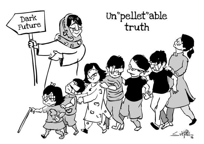 Un'pellet'able Truth - Cartoon by Suhail Naqshbandi