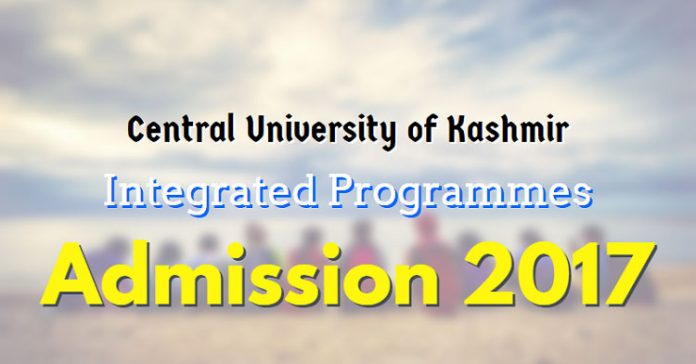 CUK Integrated Programmes Admission 2017