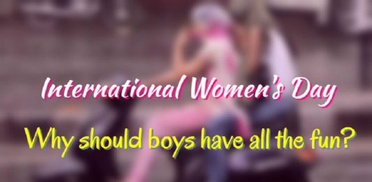 International Women's Day – Why should boys have all the fun?