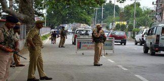 Security beefed up across Srinagar