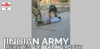Two viral videos bring disgrace to Indian Army in Kashmir