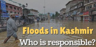 Floods in Kashmir: Who is responsible?