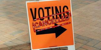 Voting Cancelled