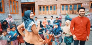 "Watch ""Ladki Badi Anjani Hai"" shot in Kashmir"
