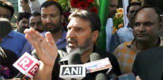 Altaf Bukhari lashes out at national media for putting Kashmir on fire