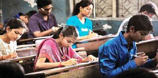 Candidates sitting in National Eligibility Test (NET)