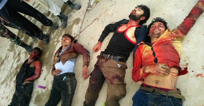 Four 'Fidayeen' militants killed in north Kashmir's Sumbal