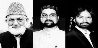 Joint Resistance Leadership (JRL) - Kashmir