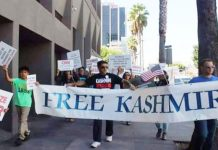 Kashmiris protest, shout Free Kashmir outside Edgbaston Cricket Ground