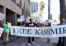 Kashmiris protest, shout Free Kashmir outside Edgbaston Cricket Ground