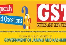 Goods & Services Tax (GST) - Frequently Asked Questions