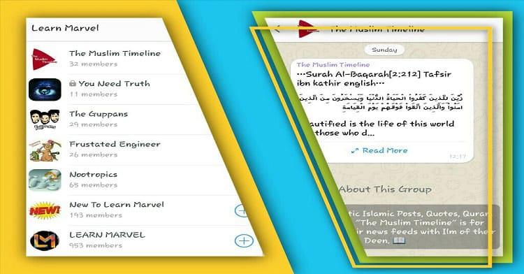 Learn Marvel - App Screenshots