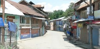 Shutdown in Tral