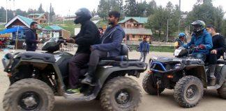 ATVs (All Terrain Vehicles) in Gulmarg