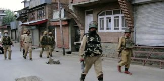 Government forces in Kashmir